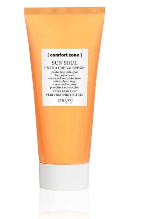 Comfort Zone Sun Soul Face Cream - Fluido protector solar para la cara y el escote