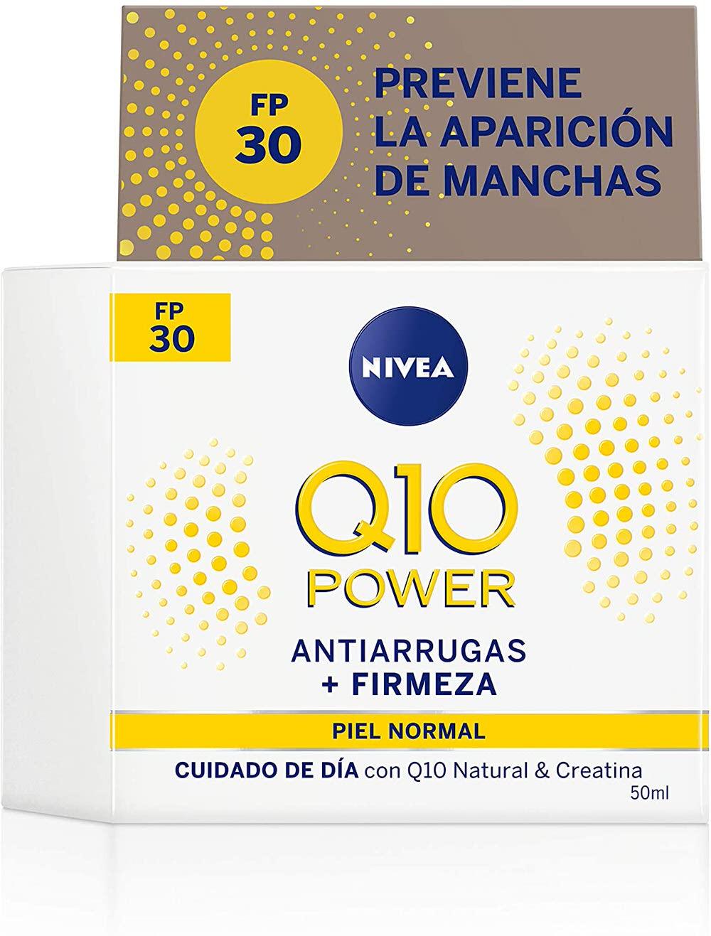 Nivea Q10 Power Antiarrugas - Crema antiarrugas de día Triple Defensa