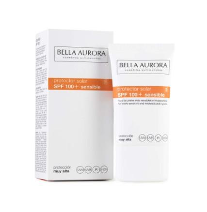 Protector solar facial de Bella Aurora