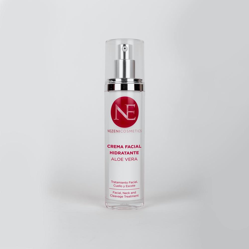 Crema facial con áloe vera de Nezeni Cosmetics