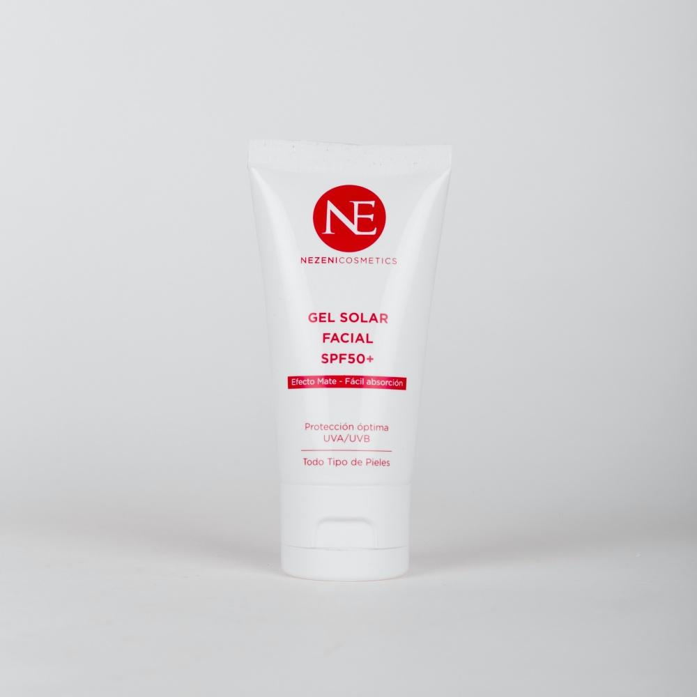 Gel solar facial de alta protección de Nezeni Cosmetics