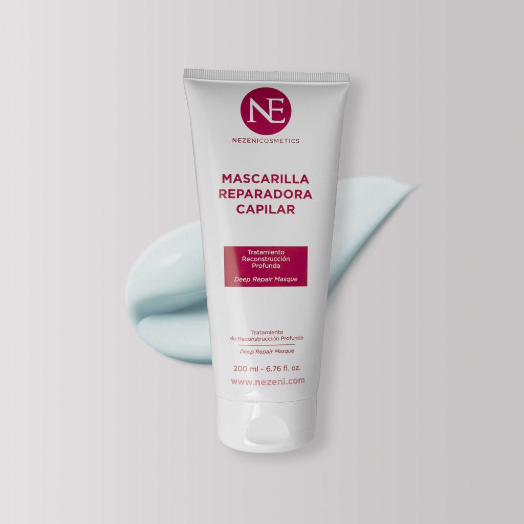 Mascarilla reparadora capilar de Nezeni Cosmetics