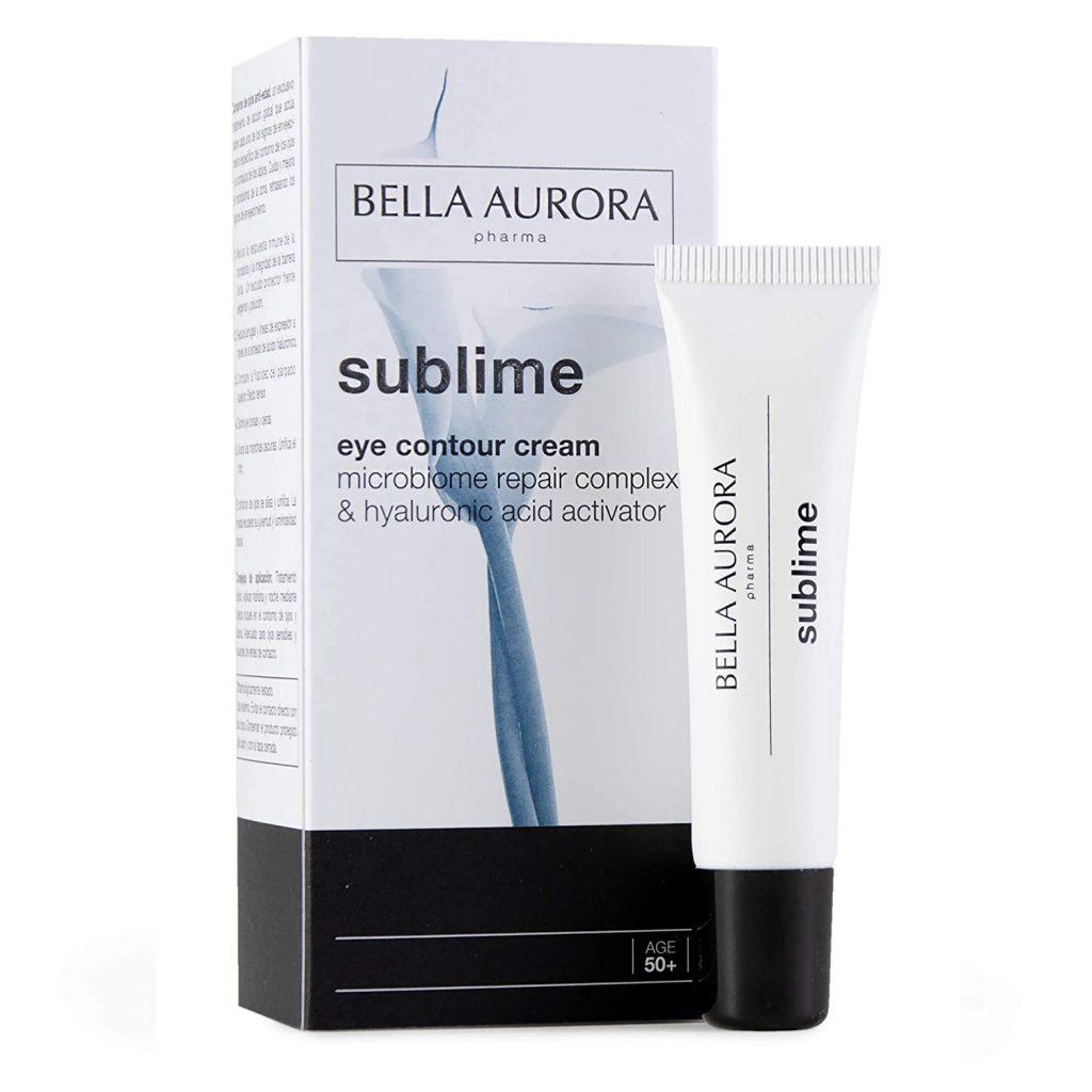 Crema de ácido hialurónico para contorno de ojos y labios de Bella Aurora